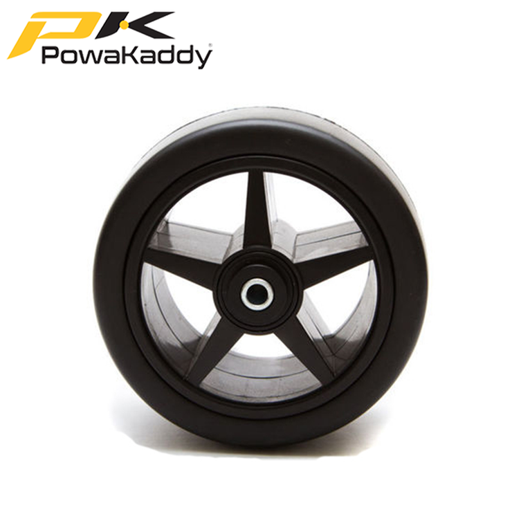 Powakaddy NEW Style Front Wheel For All Trolleys - Black