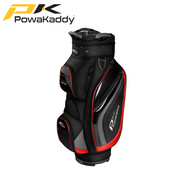 Powakaddy-Premium-Edition-Golf-Bag-Black-GunMetal-Red