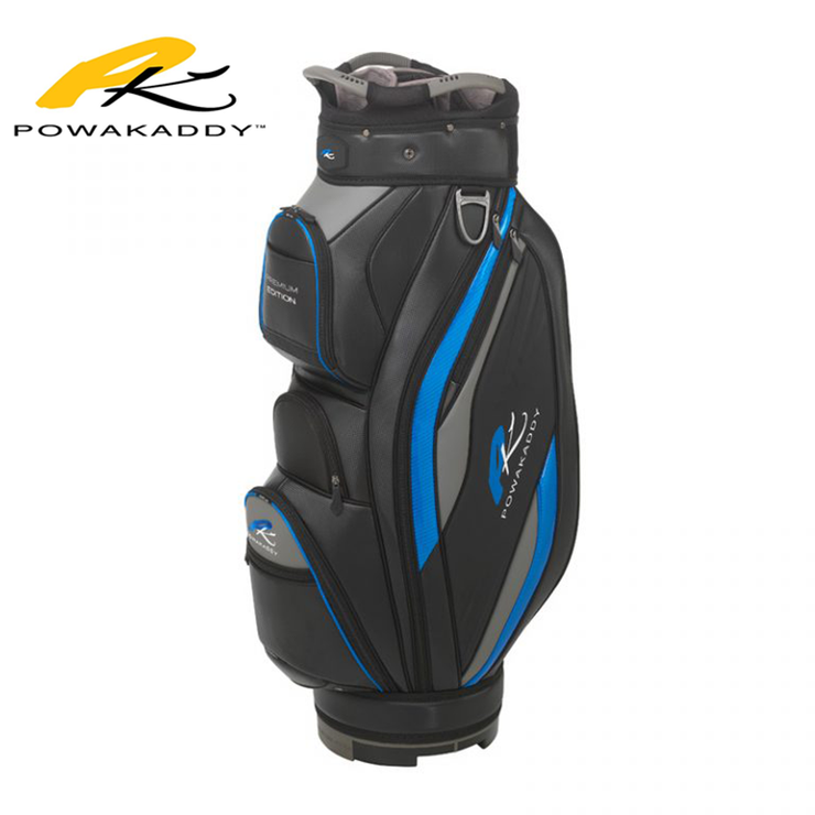 Powakaddy Premium Edition Golf Bag Blue
