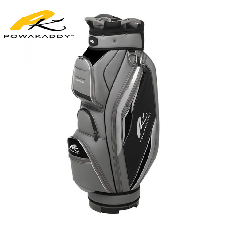 Powakaddy Premium Edition Golf Bag Gunmetal