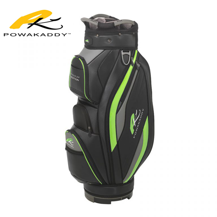 Powakaddy Premium Edition Golf Bag Lime