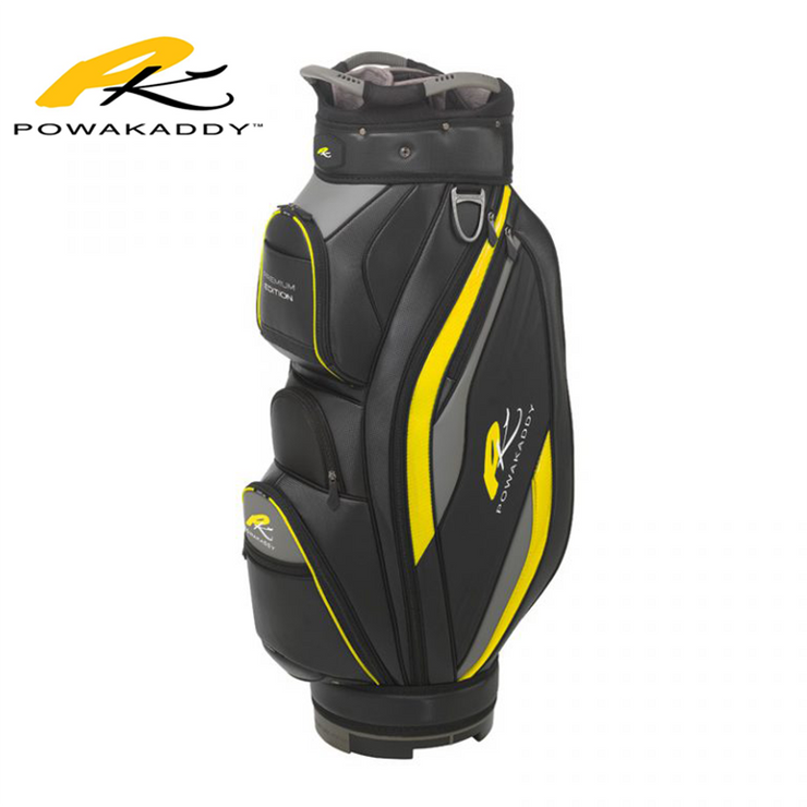 Powakaddy Premium Edition Golf Bag Yellow