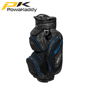 Powakaddy-Premium-Tech-Golf-Bag-Black-Grey-Camo-Blue-Trim