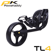 Powakaddy-Twinline-Push-Trolley-Black-Front-Wheel