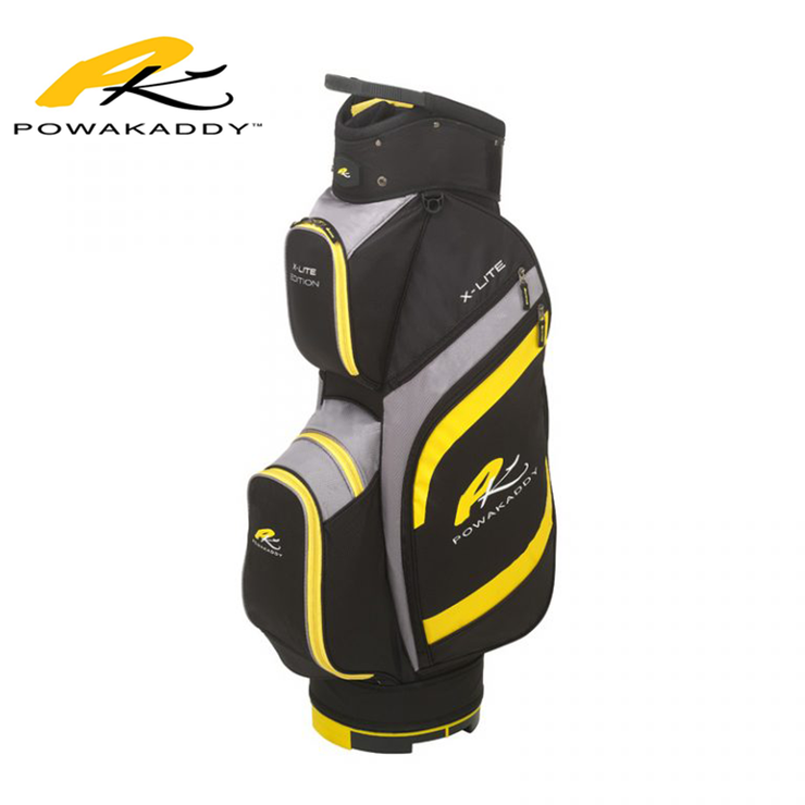 Powakaddy X-Lite Edition Golf Bag Yellow