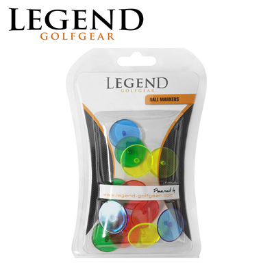Legend Neon Golf Ball Markers