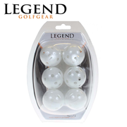 Legend Plastic Hollow Balls 6 Pack-2