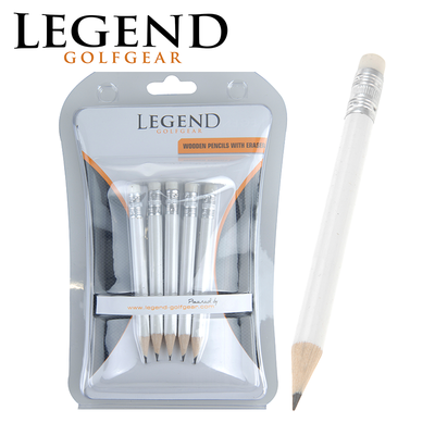Legend Wooden Pencils with Eraser