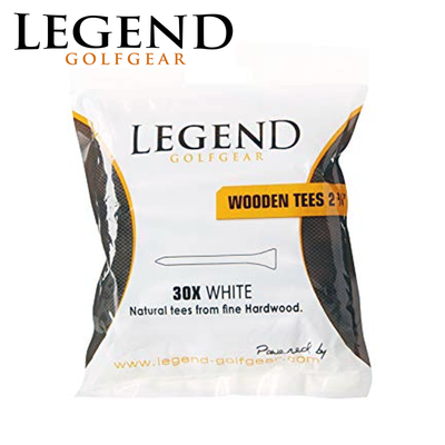 Legend Wooden Tees 30 Pack