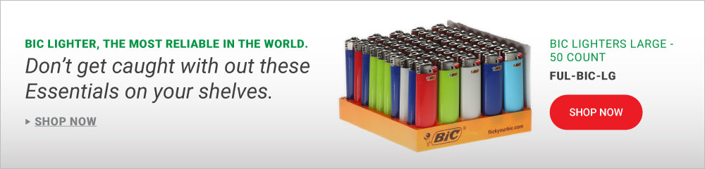 Must have BIC lighters