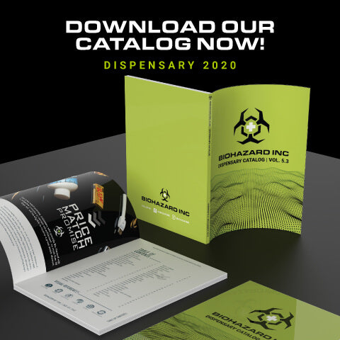 Download Bio Hazard Inc 2019 Dispensary Catalog
