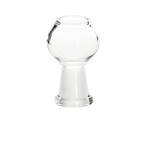 Clear glass dome