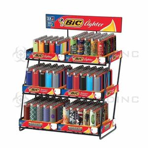 Bic Lighter convenience store display