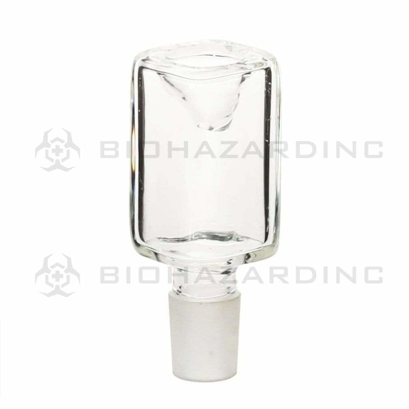 Biohazard Inc 19mm Bowl 19mm Rectangle Bowl - Clear