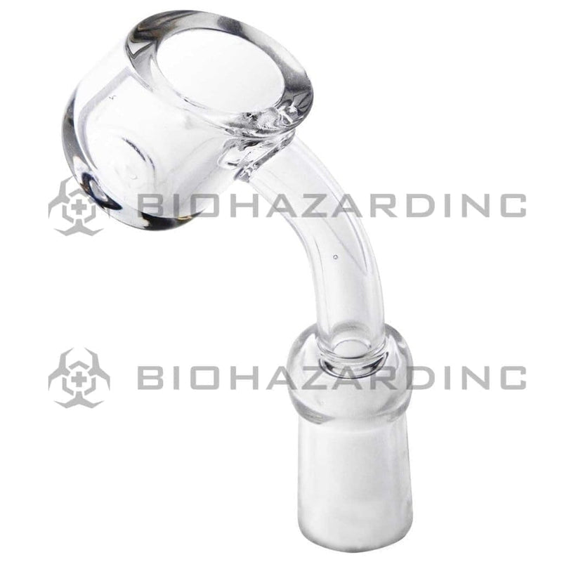 Biohazard Inc Quartz Banger 45° Heavy Wall Quartz Banger - 10mm Female