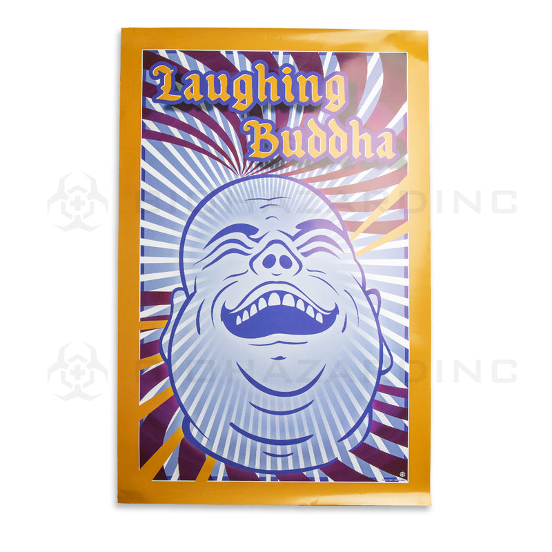 "Laughing Buddha | 24"" x 36"" Art Poster"