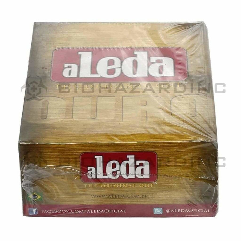 Biohazard Inc Rolling Papers aLeda Ouro King Slim Rolling Papers - 50 Count
