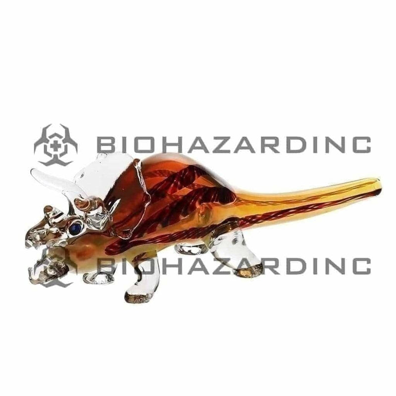 "5"" Dinosaur Triceratops Hand Pipe"