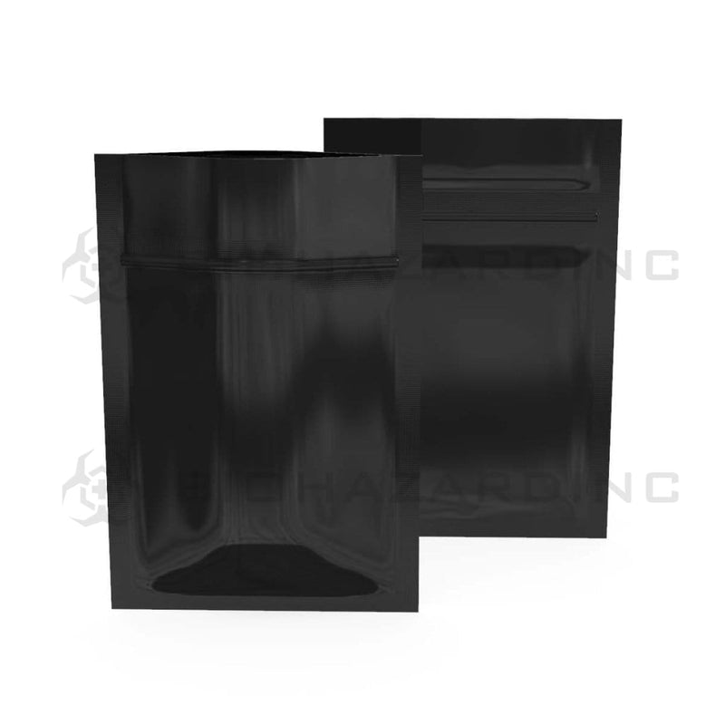 Biohazard Inc Mylar Bag Black Mylar Bags 3in x 4.5in - 1g - 1,000 Count (Tamper Evident)