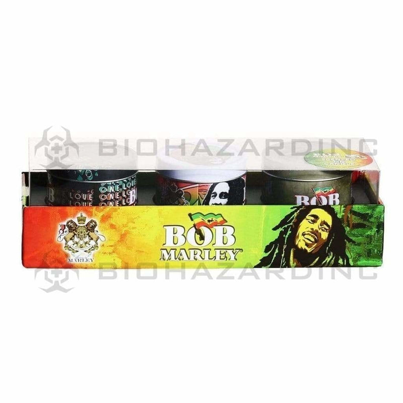 Bob Marley Candle Bob Marley Tin 3 Candle Gift Set - 4 Sets
