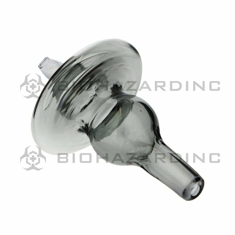 Biohazard Inc Carb Cap Bubble Directional Airflow Carb Cap - Smoke Black
