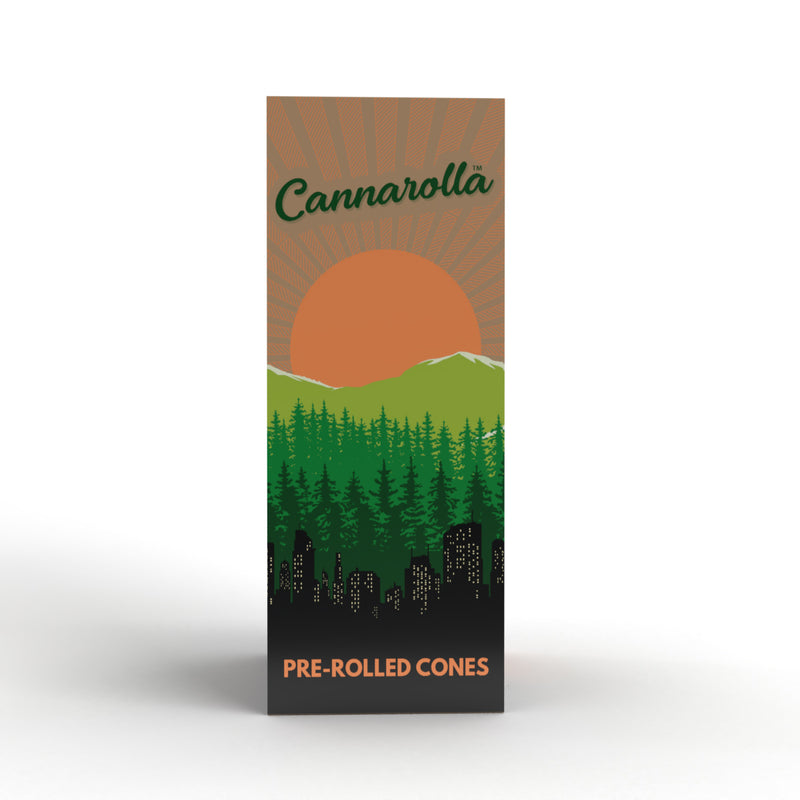 Cannarolla Pre-Rolled Cones White 109/26mm- 800 Count
