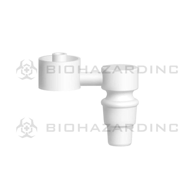 Biohazard Inc Ceramic Domeless Nail Ceramic Sidecar Domeless Nail - 19mm or 14mm Male