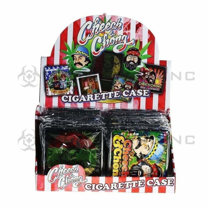 Cheech and Chong Cigarette Case Cheech & Chong Cigarette Case - Series B - 12 Count