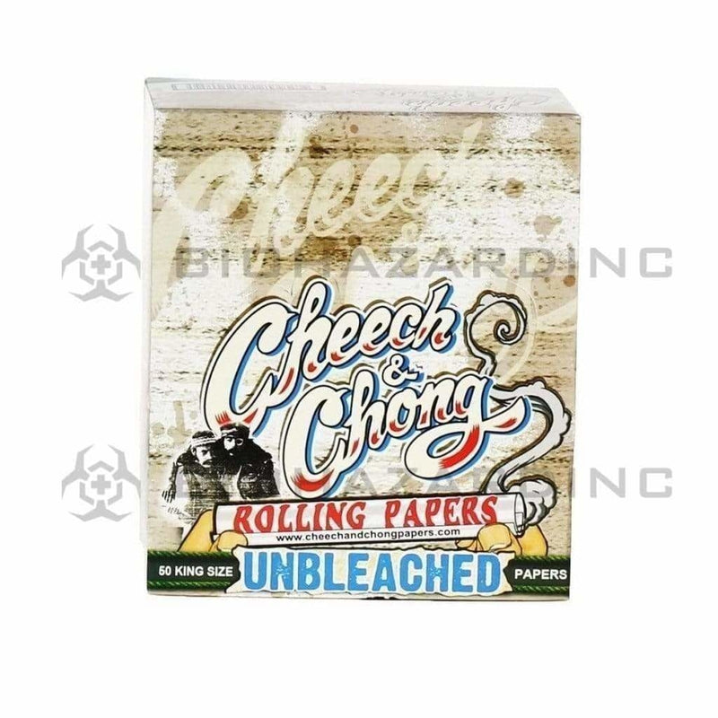 Cheech and Chong Rolling Papers Cheech & Chong King Unbleached Rolling Papers - 50 Count