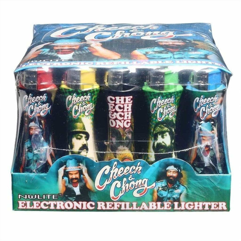 Cheech and Chong Lighters Cheech & Chong Lighter - Curve Series A - 50 Count