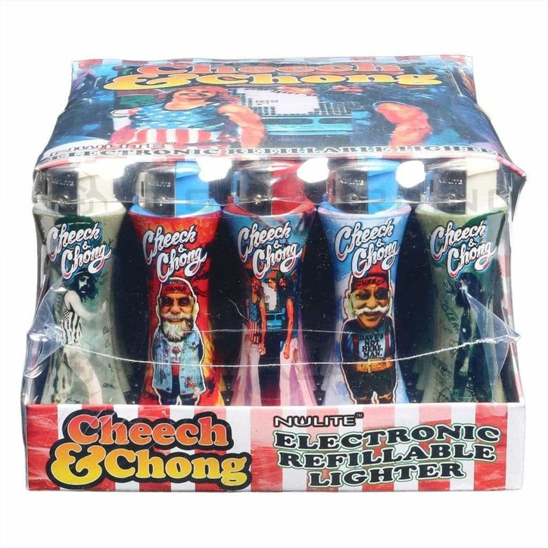 Cheech and Chong Lighters Cheech & Chong Lighter - Curve Series C - 50 Count