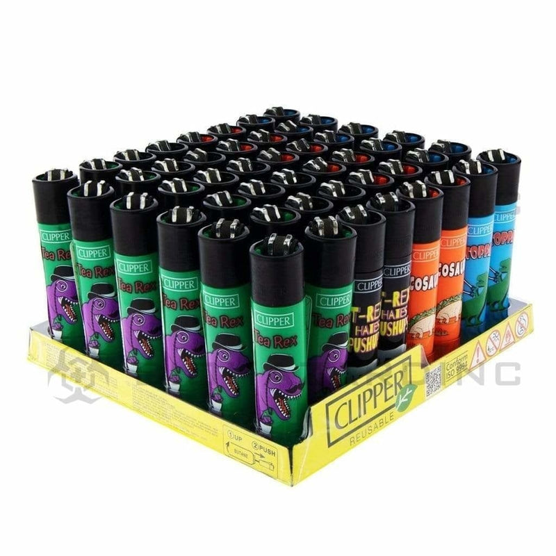 Clipper Lighters Clipper Lighters Animal Mix S2 - 48 Count