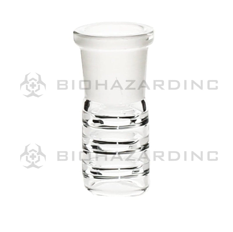 Biohazard Inc 19mm Dome Dome with Inside Rings Clear 19mm