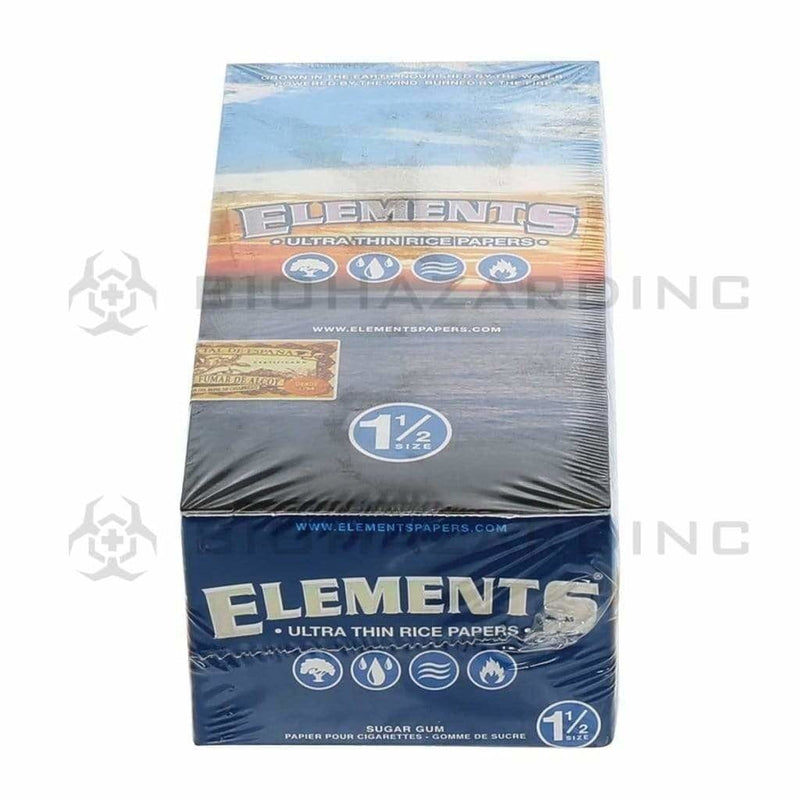 "Elements Rolling Papers Elements Rice Rolling Papers 1 1/2"" - 25 Count"