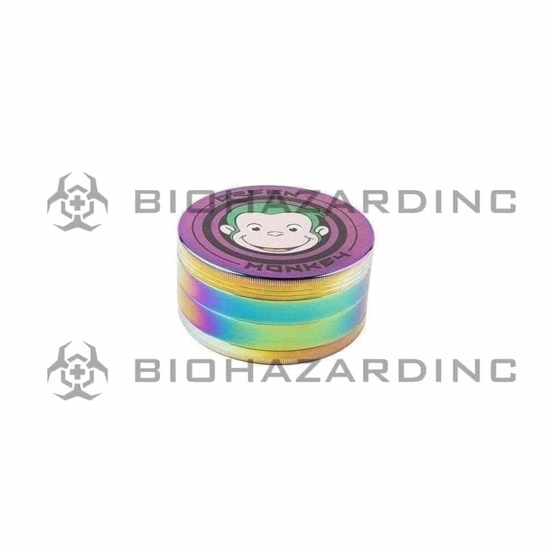 Green Monkey Metal Grinder Green Monkey 100mm Grinder - Rainbow