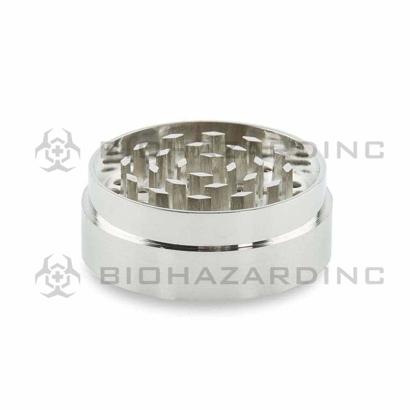 Green Monkey Metal Grinder Green Monkey Capuchin 50mm Grinder - Silver