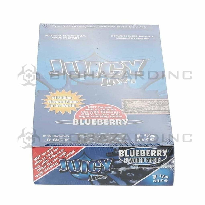 Juicy Jay's Rolling Papers Juicy Jay's Blueberry Rolling Papers - 1 1/4""