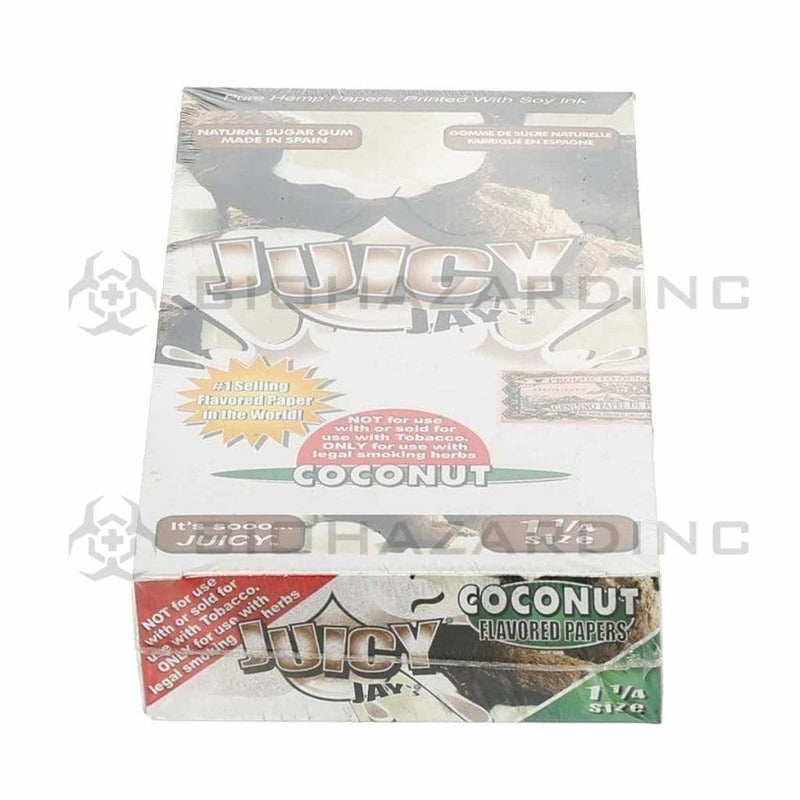 Juicy Jay's Rolling Papers Juicy Jay's Coconut Rolling Papers - 1 1/4""