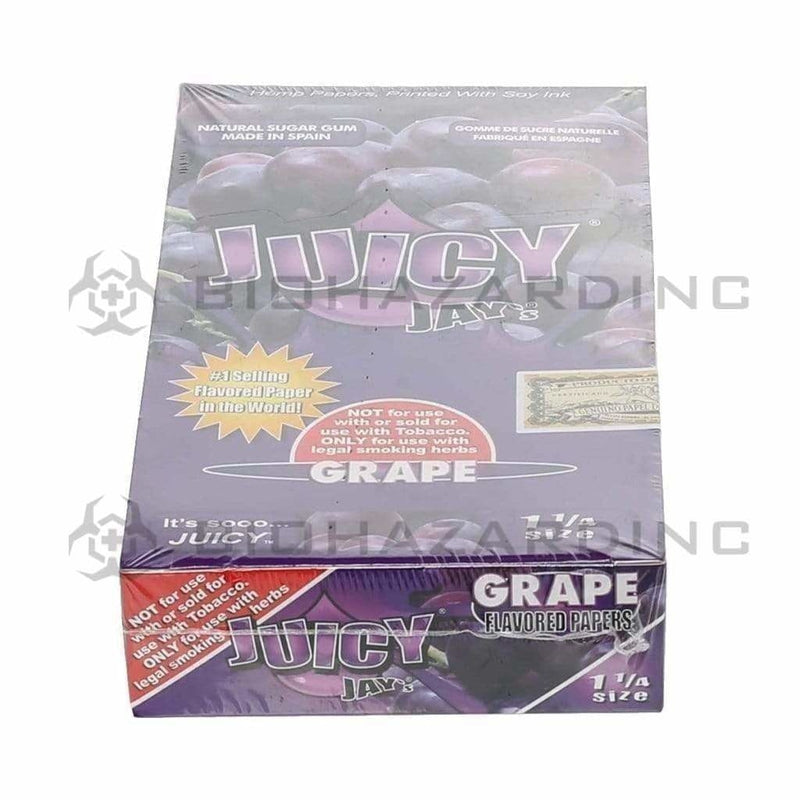 Juicy Jay's Rolling Papers Juicy Jay's Grape Rolling Papers - 1 1/4""
