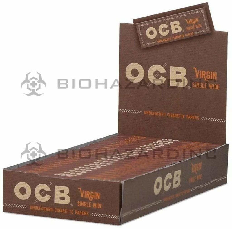 OCB Rolling Papers OCB Virgin Single Wide Rolling Papers - 24 Booklets