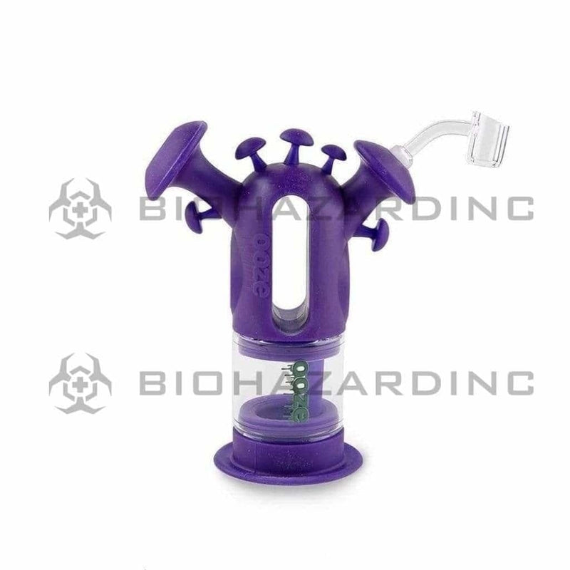 Ooze Silicone Bong OOZE Trip Silicone Bubbler Bong / Dab Rig - Purple