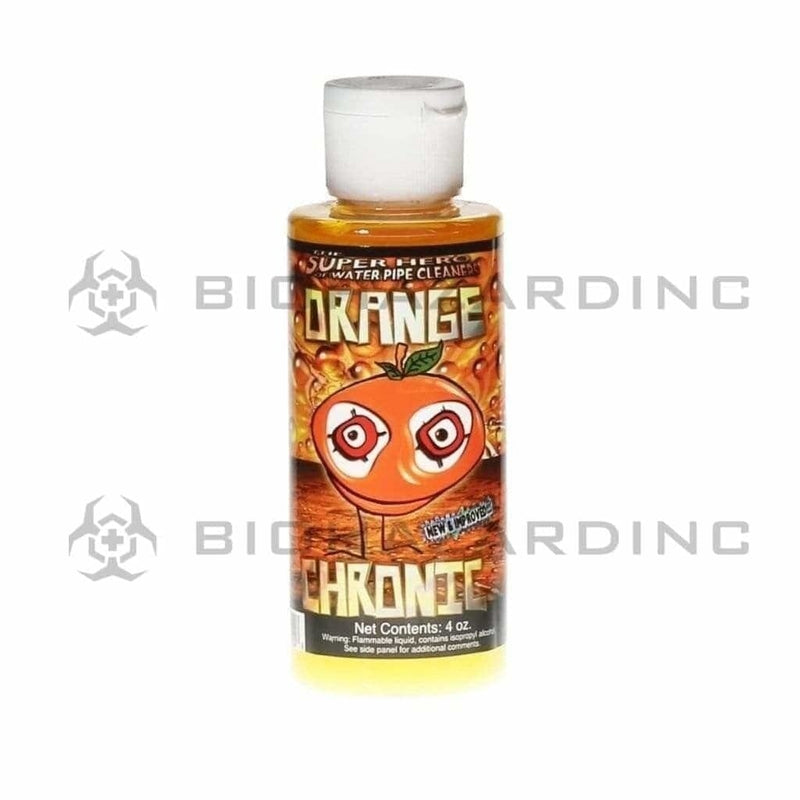 Orange Chronic Bong Cleaner Orange Chronic Water Pipe Cleaner - 4oz