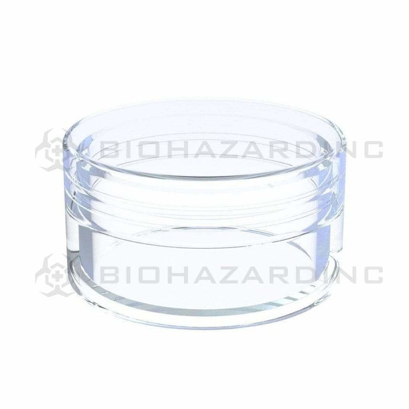 Biohazard Inc Concentrate Container Plastic Screw Top Concentrate Containers 15ml - 600 Count
