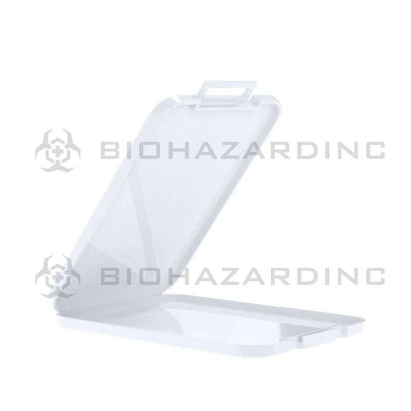 Biohazard Inc Concentrate Container Plastic White Shatter Concentrate Container 4.5mm- 200 Count