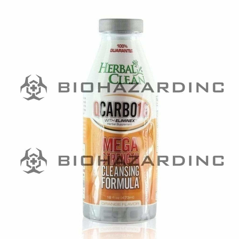 Herbal Clean QCarbo Detox - Orange 16 fl.oz.