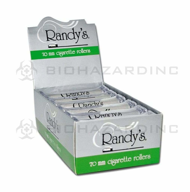 "Randy Rolling Papers Randy Cigarette Rollers - 70mm or 1 1/4"" - 12 Count"