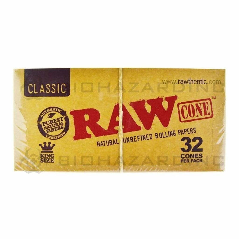 Raw Pre-Rolled Cones RAW Cones King Size 32 / 12 ct