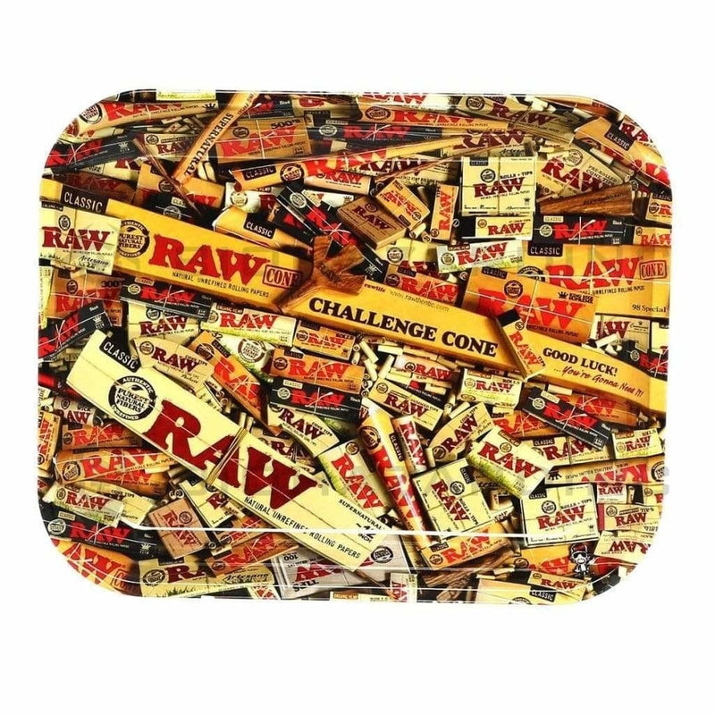 Raw Rolling Tray RAW Rolling Tray - RAW Mix -Large