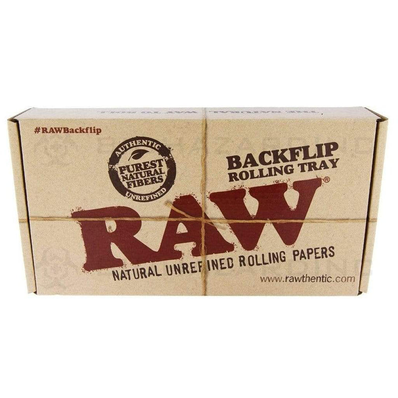 RAW Backflip Rolling Tray - Bamboo