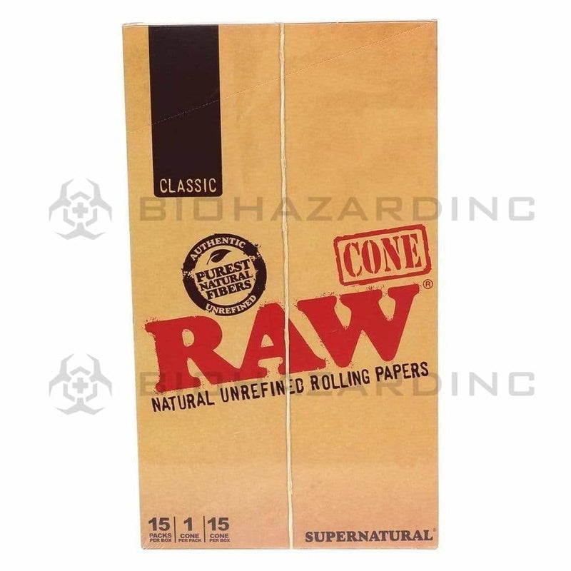 Raw Pre-Rolled Cones RAW Supernatural Cones - Holds up to 21 Grams -15 Count